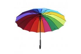 直杆伞-江门市千千伞业有限公司-23寸直杆彩虹伞
