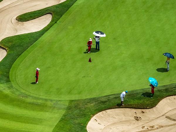 掌握四点选对高尔夫伞