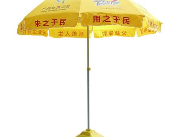 广告太阳伞的优点和保养方法